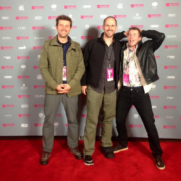 Cinematographer Deniz Demirer, writer/director Josh Peterson, and lead actor Eric Newcombe